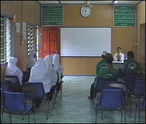 Classroom at Faith Purification Center in Ulu Yam (Batul Iman), Selangor state. (Government of Malaysia)