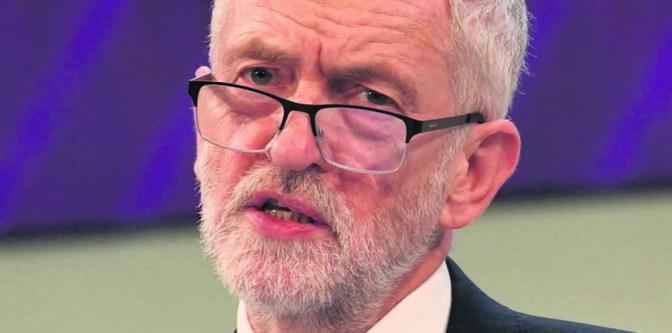 Jeremy Corbyn addressed socialists in Lisbon
