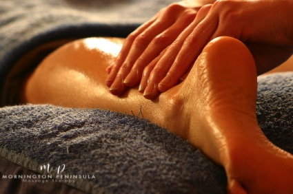 Massage can speed up the healing time of pulled muscles
