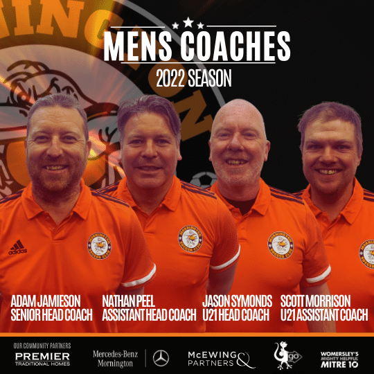 Men's Coaches Appointed