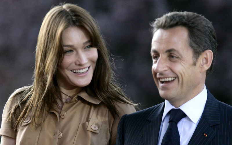 Carla Bruni and Nicolas Sarkozy spend New Year's eve in Marrakech -  Moroccan Ladies