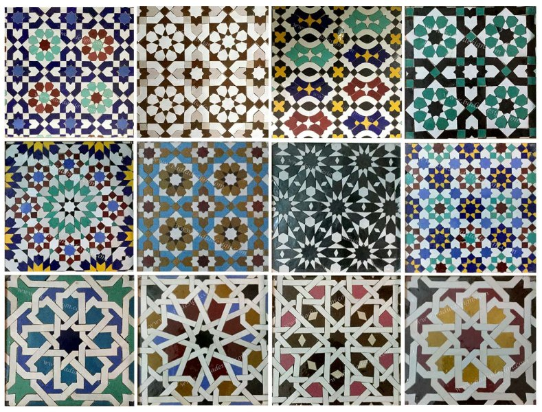 Moroccan swimming pool tile   Moroccan Tiles Los Angeles Moroccan cement tile  Moroccan hand painted tiles  Moroccan cement tiles   assorted Moroccan cement