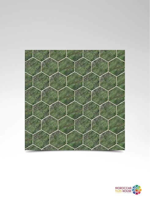 Babel Green Hexagonal