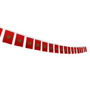 marokkaane hang vlaggen met de marokkaans vlaggen