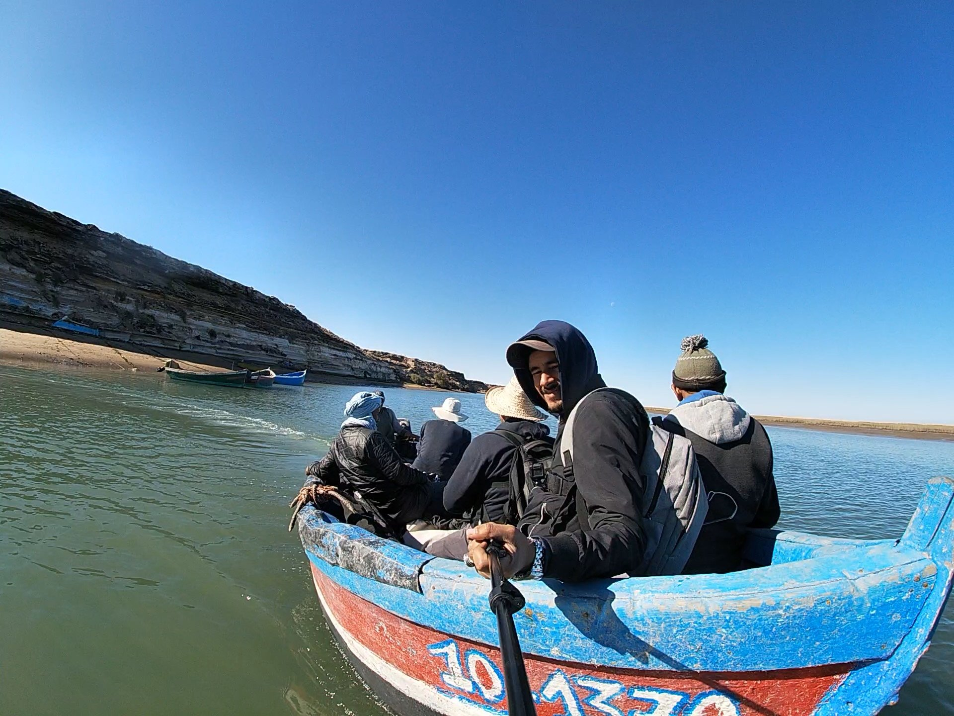 fishing trip in Morocco