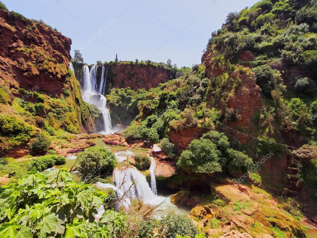 ouzoud waterfall one day trip from marrakech