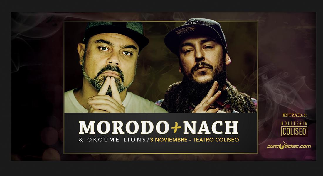 Morodo & Nach en Chile