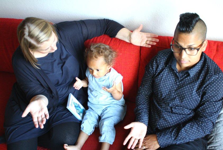 Morogmor blog - Tina, Maria og Nola