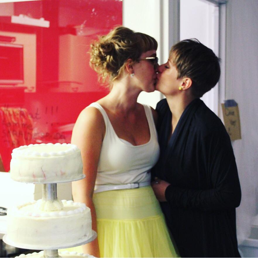 Morogmor blog - Lesbisk kys