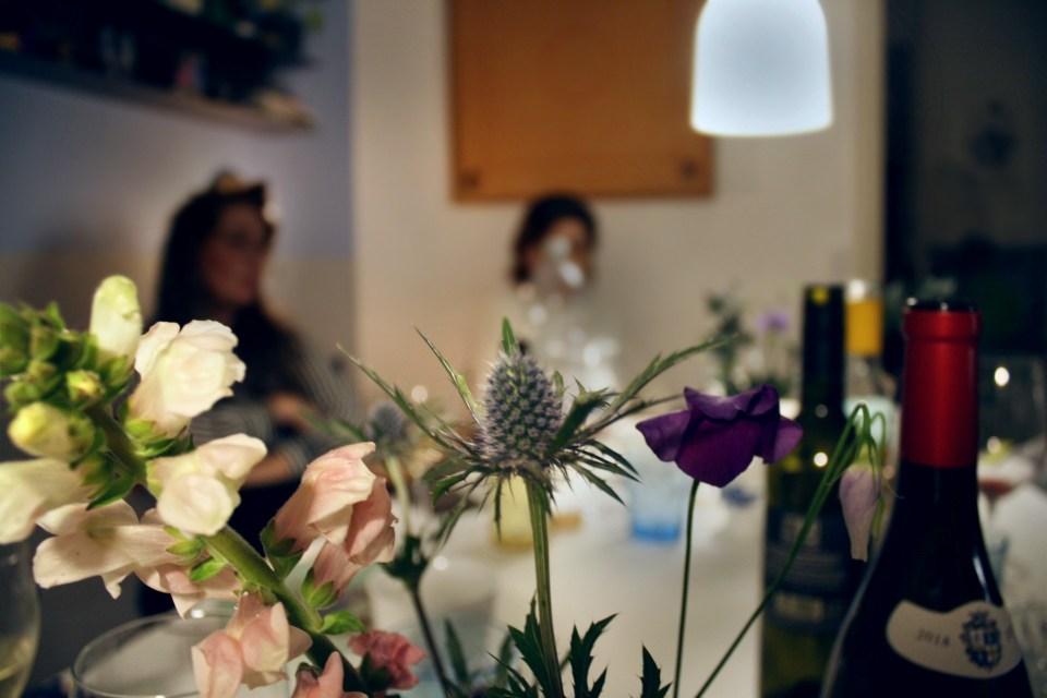 Morogmor blog - Tidsler i blomsterbuket