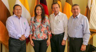 Prefectos Amazónicos (CONGA) mantuvieron reunión de trabajo