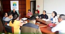 Prefectura mantiene reunión de trabajo para evaluación del PDOT.