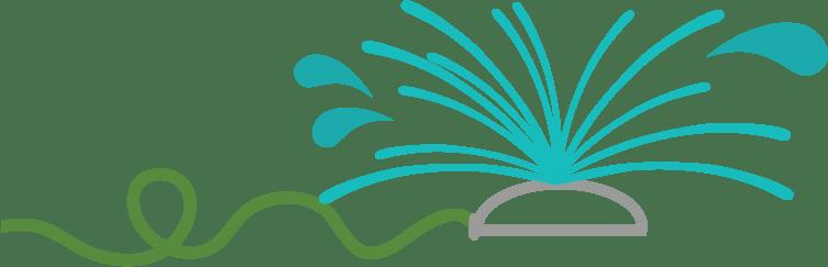 sprinkler-clipart-large sprinkler-with-hose