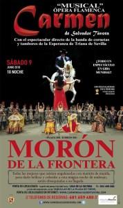 """MÚSICA. Ópera flamenca """"Carmen"""". 9 de junio. Plaza de toros @ Plaza de toros    Morón de la Frontera   Andalucía   España"""