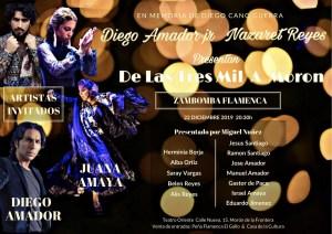 MÚSICA. Zambomba Flamenca, Nazareh Reyes y su grupo. 22 de diciembre. Teatro Oriente @ Teatro Oriente