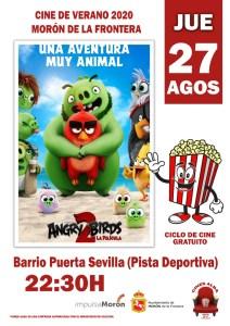 CINE. Angry Birds 2. Plaza del Aceite. 27 de agosto @ Plaza del Aceite