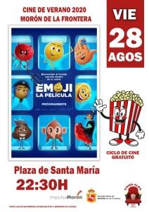 """CINE. Emoji """"La Película"""". 28 de agosto. Plaza de Sta. María @ Plaza de Santa María"""