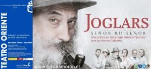 """TEATRO. """"SEÑOR RUISEÑOR"""" – ELS JOGLARS. 7 de noviembre. Teatro Oriente @ Teatro Oriente"""