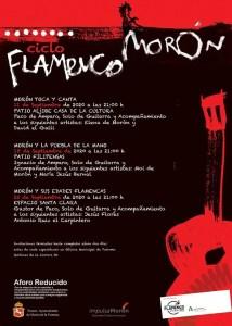 FLAMENCO. Morón y sus edades flamencas. 25 de septiembre. Espacio Santa Clara @ Espacio Santa Clara