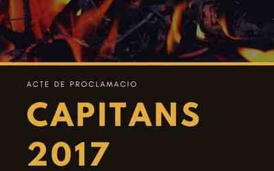 Presentació de capitans Sant Joan 2017