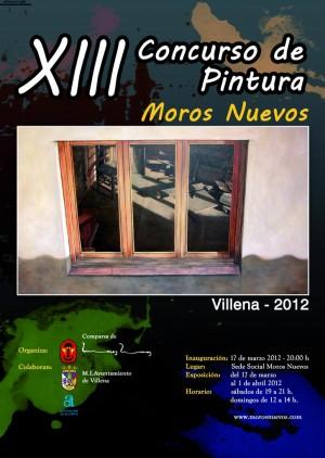 """Convocado el XIII Concurso de Pintura """"MOROS NUEVOS"""" VILLENA 2012"""