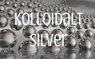 Kolloidalt silver dödar virus och bakterier