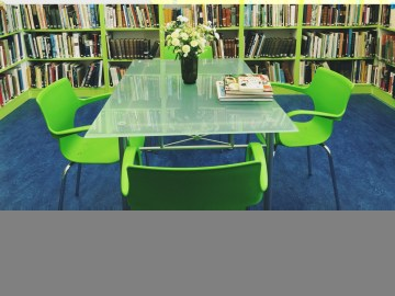 The modern Art Room in the library extension