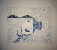 Merkaba, Intaglio Print, 2013
