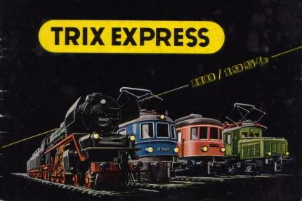 Trix Express 1954 front