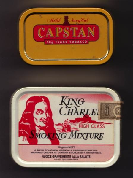 Capstan and King Charles