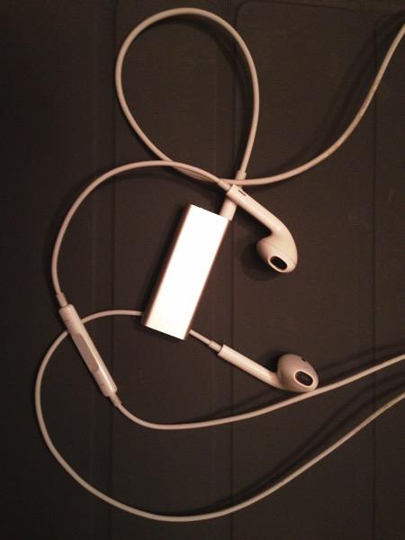 iPod shuffle 3rd generation a postreview Riccardo Mori