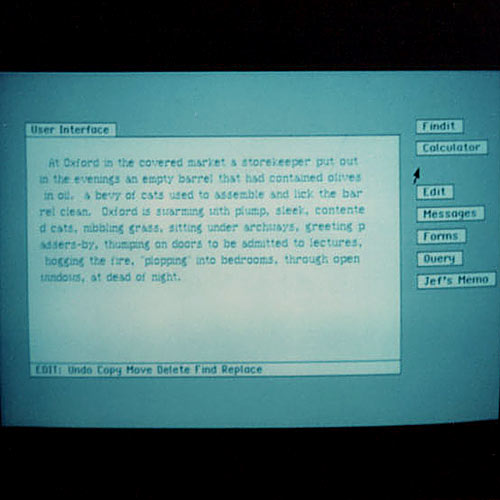 Window interface 2