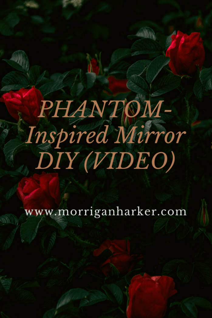 Phantom-Inspired Mirror DIY Pinterest graphic