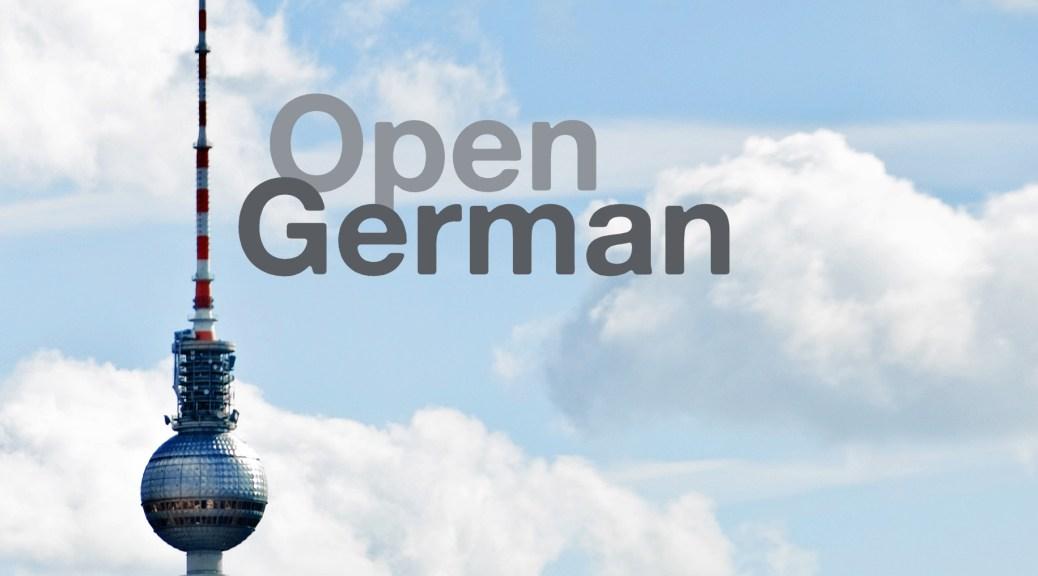 Open German Banner