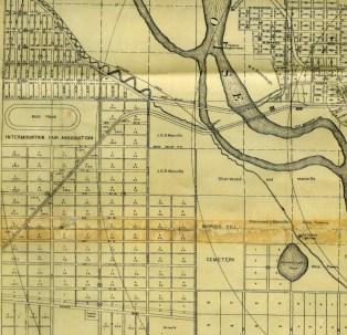 Idaho State Historical Society, G4274.B63.1907, Boise Map 1907