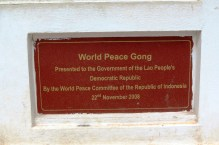 World Peace Gong, Vientiane