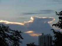 Sunset in Bangkok