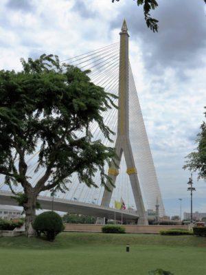 Rama VIII Bridge, Phra Nakhon. Bangkok