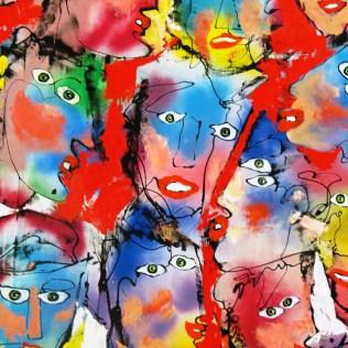Rudi Pillen Painting, Thailand Cultural Centre MRT Station