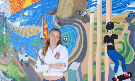 New Public Mural Paints Scenes of Morro Bay