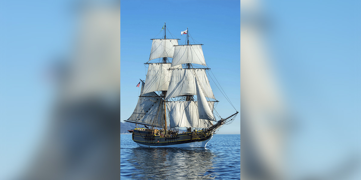 Lady Washington Returning to Morro Bay on Nov. 22