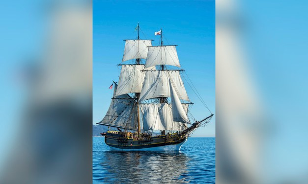 Lady Washington Returning to Morro Bay on Nov. 22