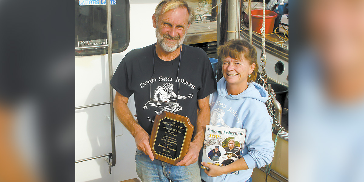 Volunteers and Fishing Advocate Honored