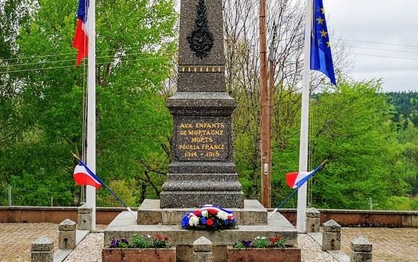 Photos de la Cérémonie de commémoration du 8 mai