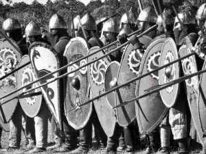 Spear Phalanx in formation