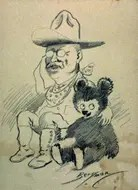 Teddy Roosevelt and his Bear
