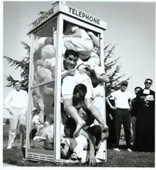 Phone booth stuffing 1959