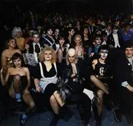 Audience at a Rocky Horror Picture Show movie