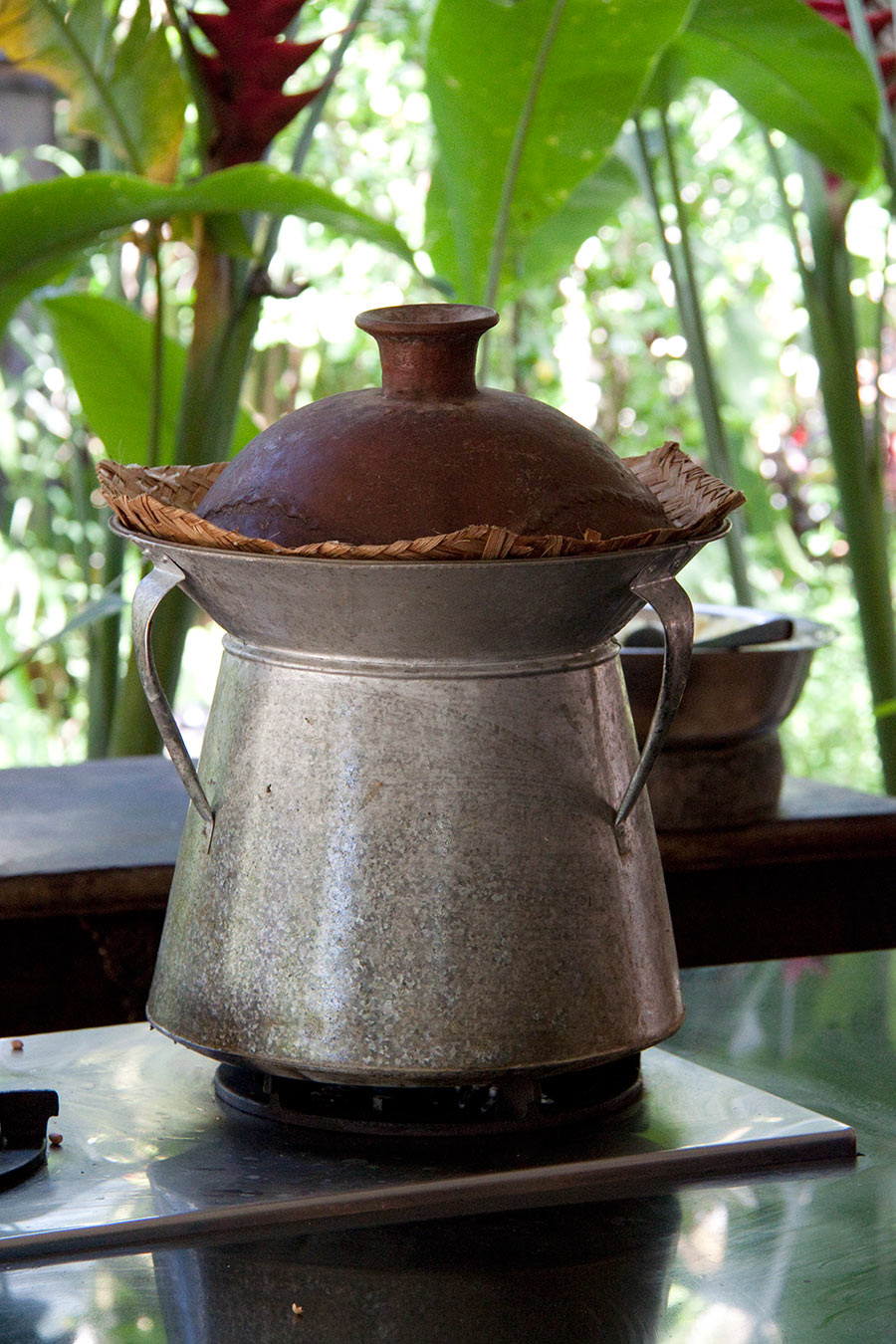 A traditional rice cooker. #Bali #rice