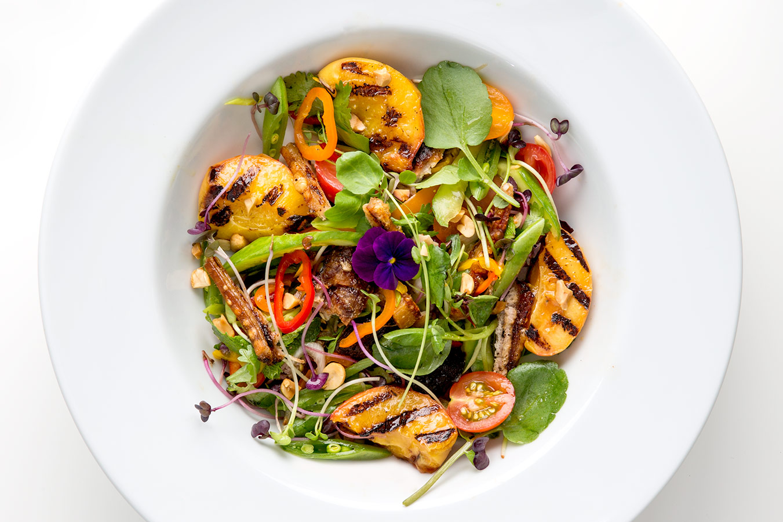 Vietnamese Crispy Pork Salad mortar-and-pestle.ca